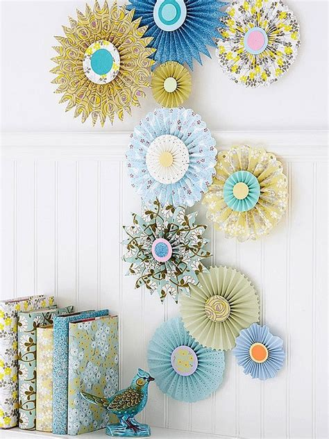 paper crafts for decorations paper inspired d 233 cor ways for you and your to