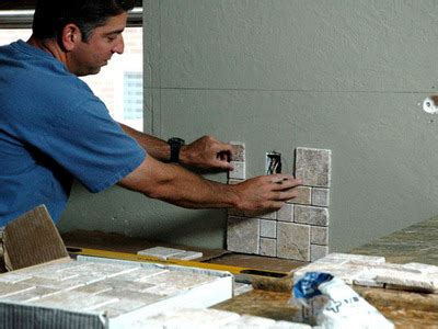 how to apply backsplash in kitchen how to install a backsplash and vent how to build it