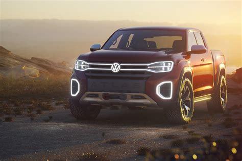 New Volkswagen Truck by Vw Unveils Atlas Tanoak Truck Concept For The U S