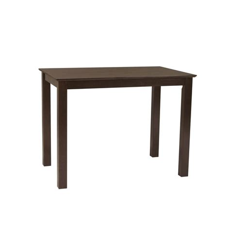 48 inch shaker gathering table bare wood wood