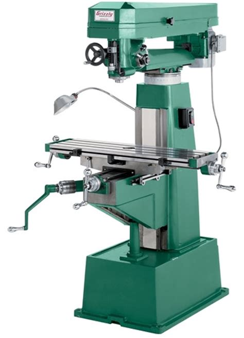 woodworking mill grizzly g9959 metal wood mill toolmonger