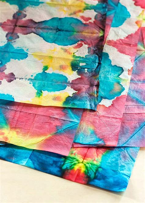 tie dye paper craft 37 creative diy tie dye ideas that will color your world