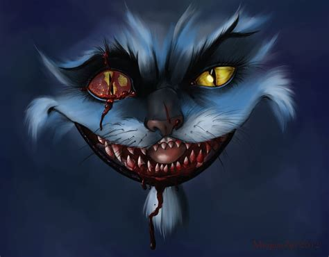 evil cat painting image from http th08 deviantart net fs71 pre f 2012 129