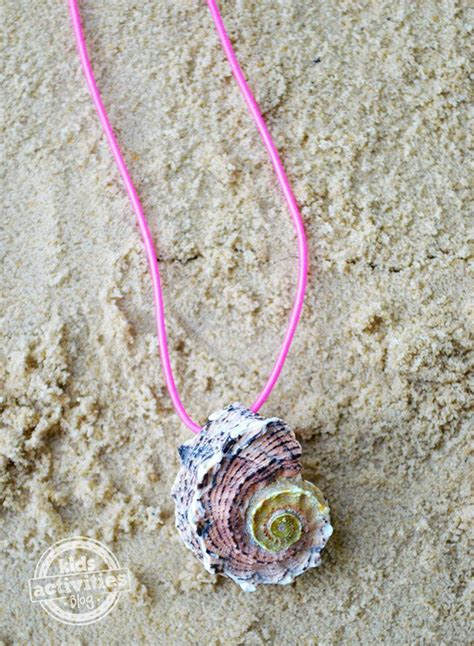 how to make seashell jewelry how to make your own seashell necklace