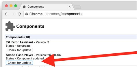 chrome player how to update adobe flash in chrome browser