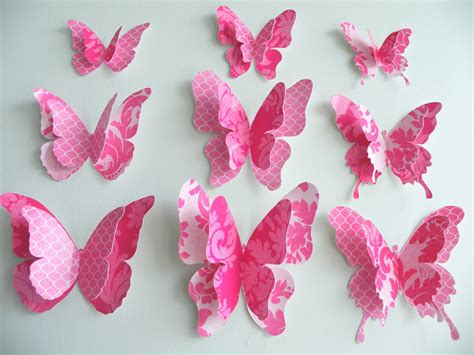 paper butterflies craft quot fancypants quot paper butterflies 54 diecut pieces felt