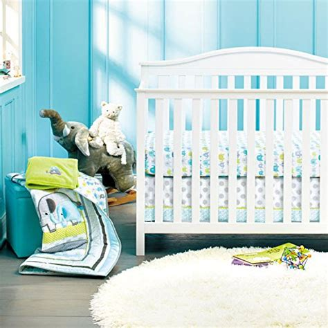 baby crib bedding set with bumper new baby safari elephant 8pcs crib bedding set with bumper