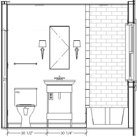 bathroom drawing 8 best images about interior elevations on