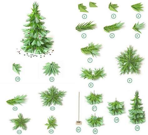 papier weihnachtsbaum origami zu weihnachten falten 6 ideen mit faltanleitung