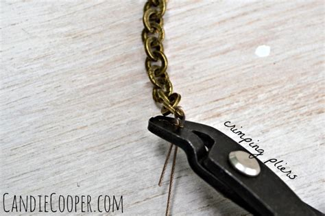 how to crimp in jewelry how to make a layering necklace candie cooper