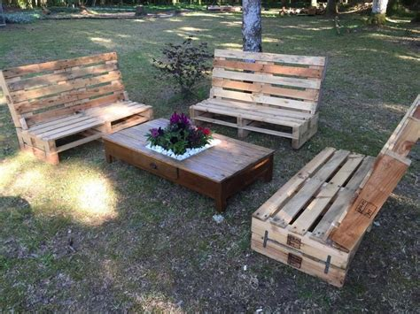 wooden pallet patio furniture outdoor wooden pallet furniture pallet ideas recycled