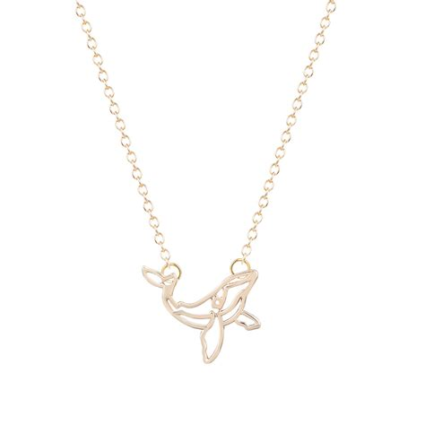 from jewelry min1pc brand whale necklace orca necklace nautical