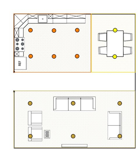 kitchen lighting plan how many recessed lights recessedlighting