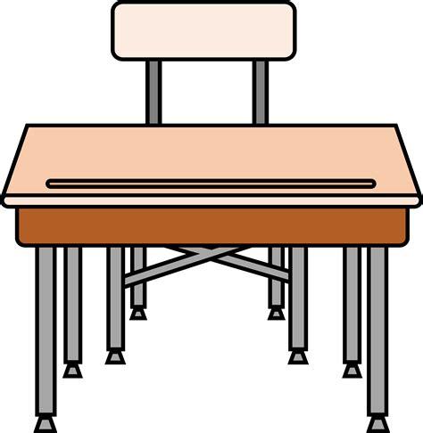 student school desk clipart empty student s desk