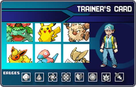 make trainer card trainer id card by x hog on deviantart