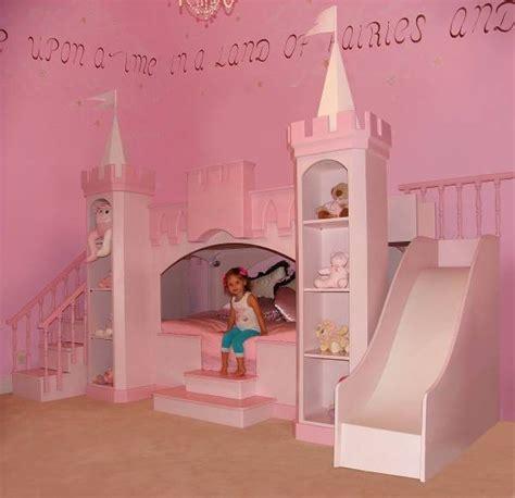 bed princess princess bedroom castle bed slide staircase