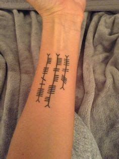 1000 ideas about ogham tattoo on pinterest gaelic