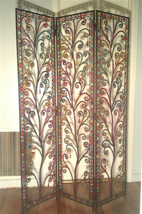 beaded room divider colourful ishka decorative screen room divider beaded