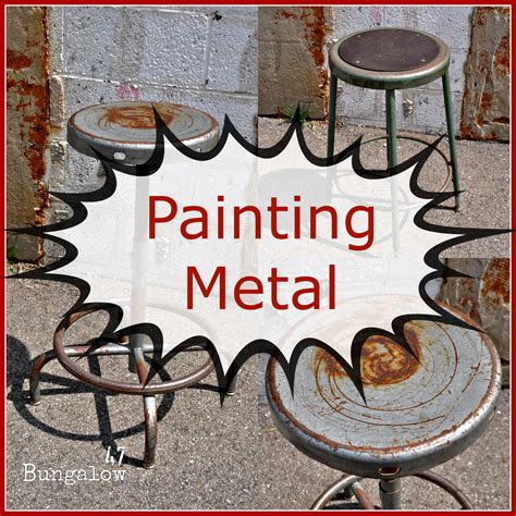 painting chalkboard paint on metal painting furniture or should i say painting metal