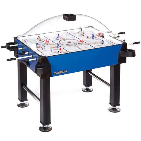 carrom signature stick rod hockey table w legs table