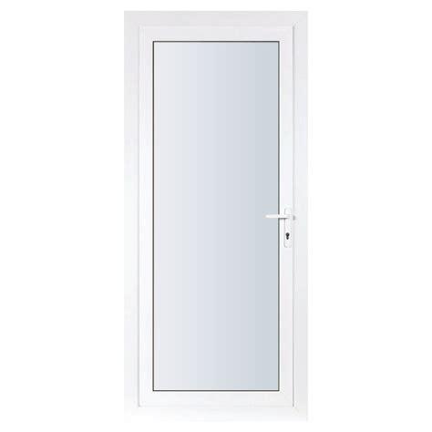 glass exterior door essentials left hung clear glass upvc exterior