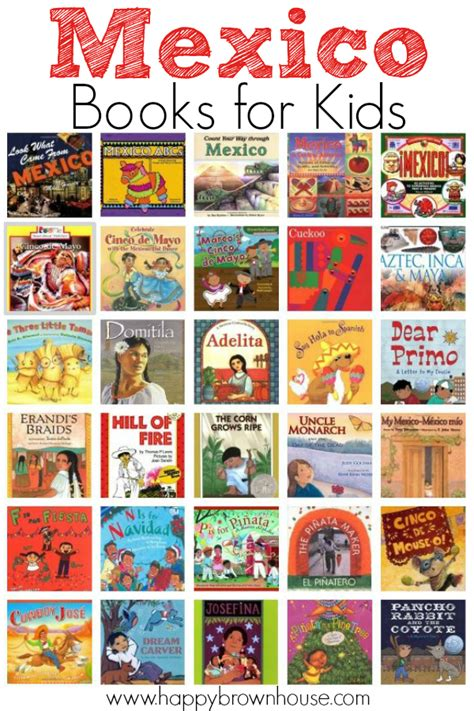 picture books for students mexico books for happy brown house