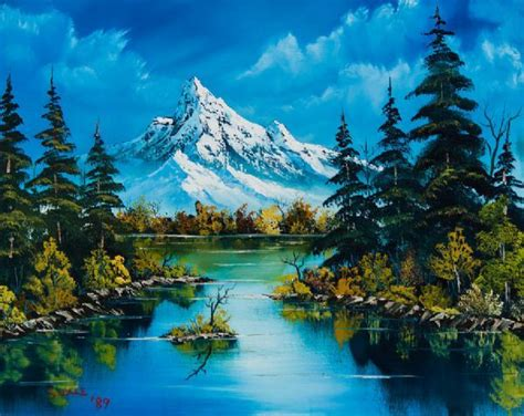 573 Best Bob Ross Images On Bob Ross Paintings