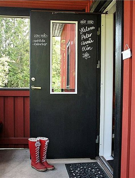chalkboard painting a door roundup what to make with chalkboard paint 187 dollar store