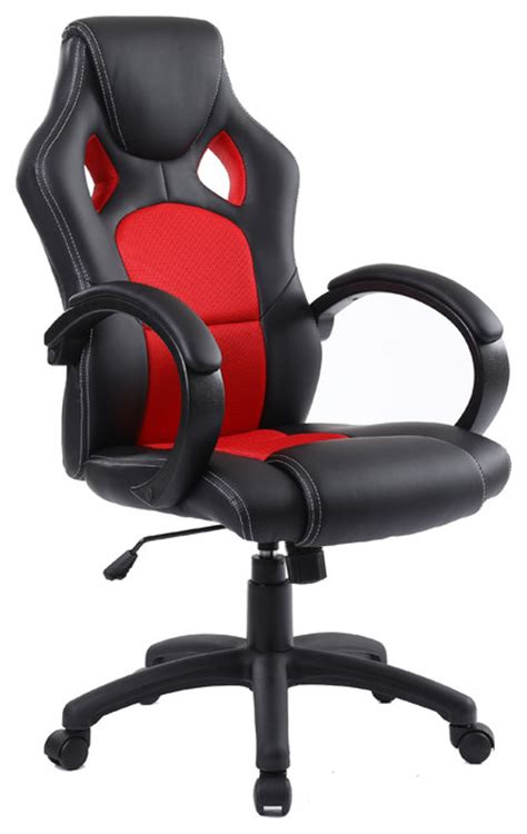 gaming swivel chair gaming tilt swivel high back leather office executive