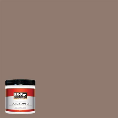 home depot milk paint colors behr premium plus ultra 8 oz 710b 5 milk chocolate