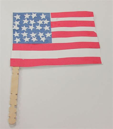 american flag crafts for american flag storytime craft