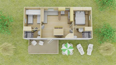 classic plus stacaravan 2 slaapkamer 2 badkamers 7