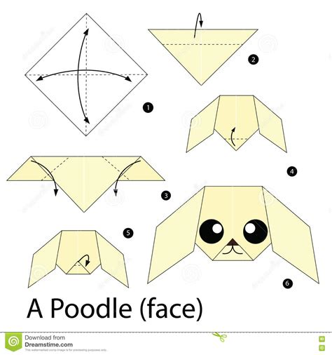 origami poodle origami poodle step by step how to make origami a