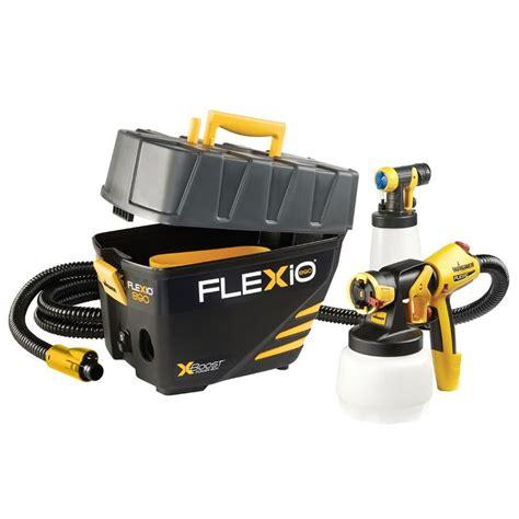 home depot paint sprayer return policy shop wagner flexio 890 kit stationary hvlp paint sprayer