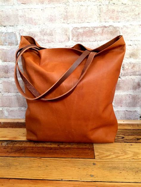 large for leather large camel brown leather tote bag oversized brown leather