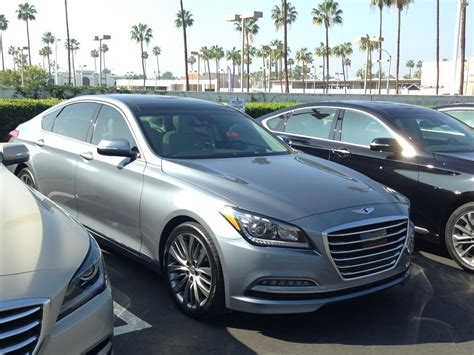 Hyundai Genesis 2015 5 0 by The 2015 Hyundai Genesis 5 0 V8 Test Drive Review