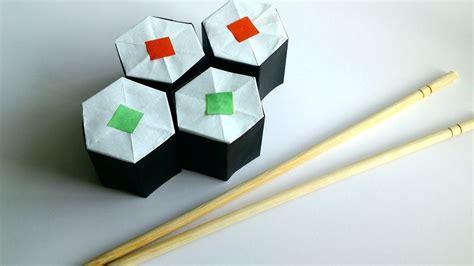 sushi origami diy origami sushi rolls paper sushi rolls