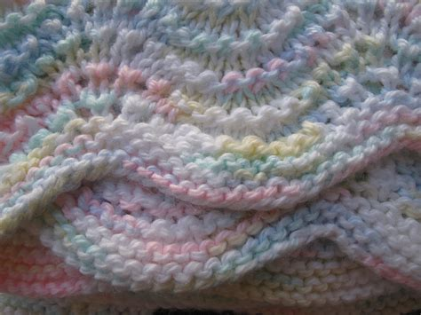 knitted ripple baby blanket lullaby lass knitted ripple baby blanket afghan