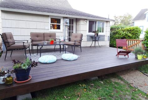 how do you build a patio 15 diy decks you can build yourself for outdoor retreat home and gardening ideas
