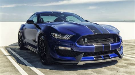 Sports Car 4k Wallpaper by Ford Mustang Shelby Gt350 Blue Mustang Sports Cars 4k