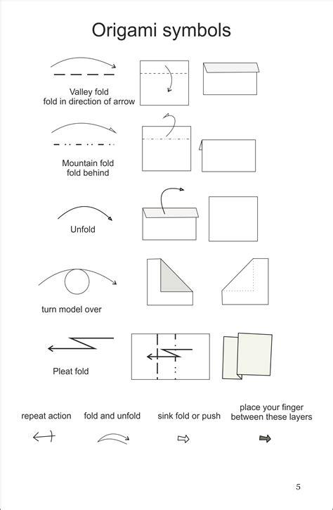 origami basic folds origami