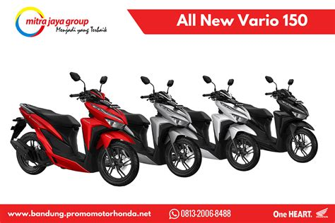 Pcx 2018 Fif by Harga Kredit Honda All New Vario 150 Tahun 2018 Kredit