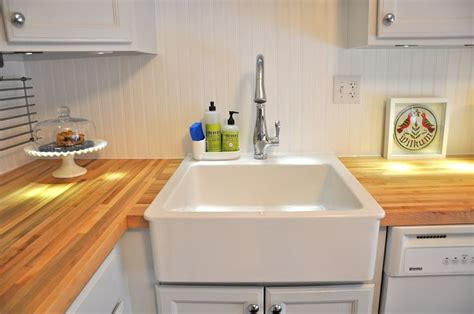 how to install an apron kitchen sink detailed for installing an ikea apron sink