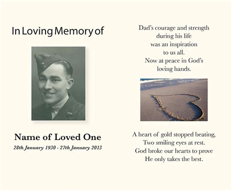 how to make a memorial card funeral service books memorial cards perth direction