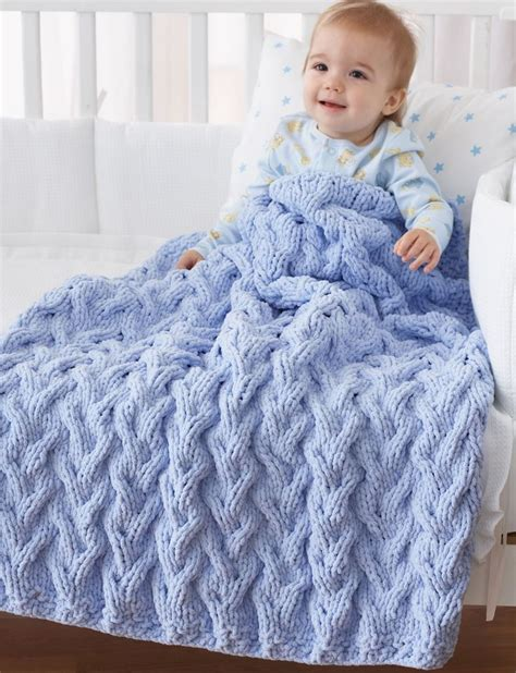 knitted baby afghan free patterns cable afghan knitting patterns in the loop knitting