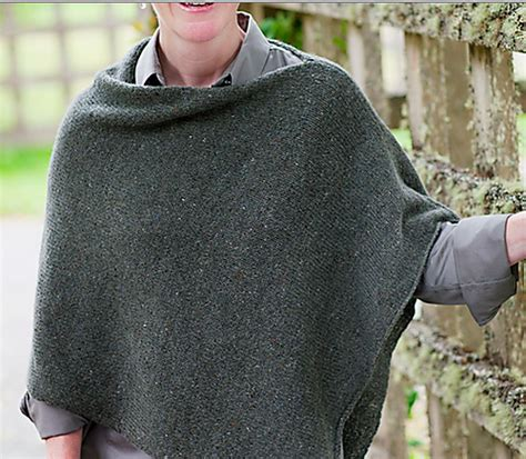 how to knit a poncho easy folded poncho knit along wool free and lovin knit