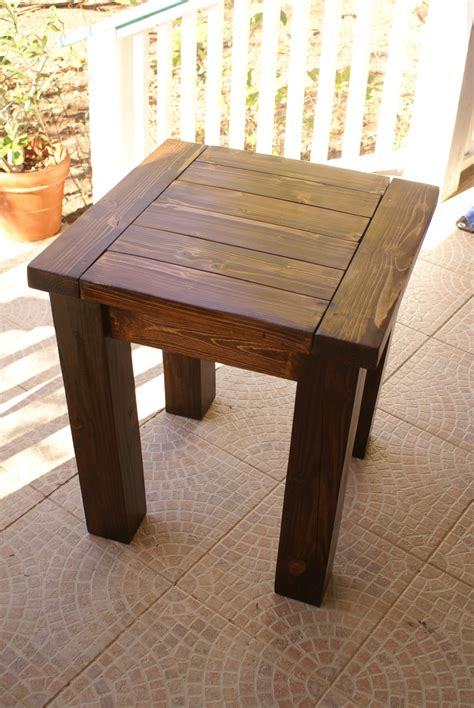 woodworking plans side table rojo kayo more side table wood plans