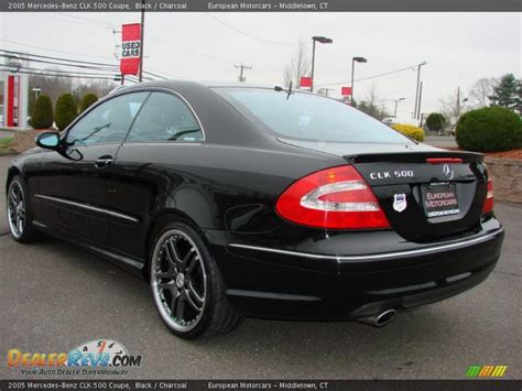 2005 Mercedes Clk500 by 2005 Mercedes Clk 500 Coupe Black Charcoal Photo 3