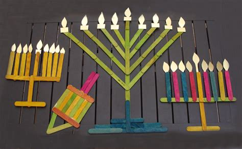 menorah crafts for 8 best hanukkah crafts for the baby post
