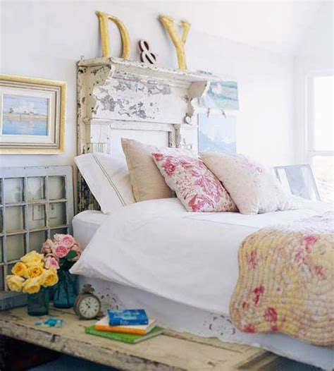 Ideas For Decorating A Bedroom cozy vintage headboard style